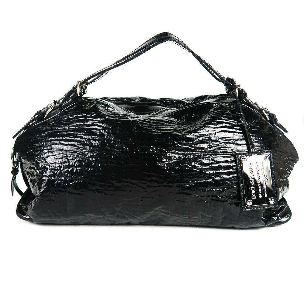 Dolce & Gabbana - Miss Bunny Black Patent Leather