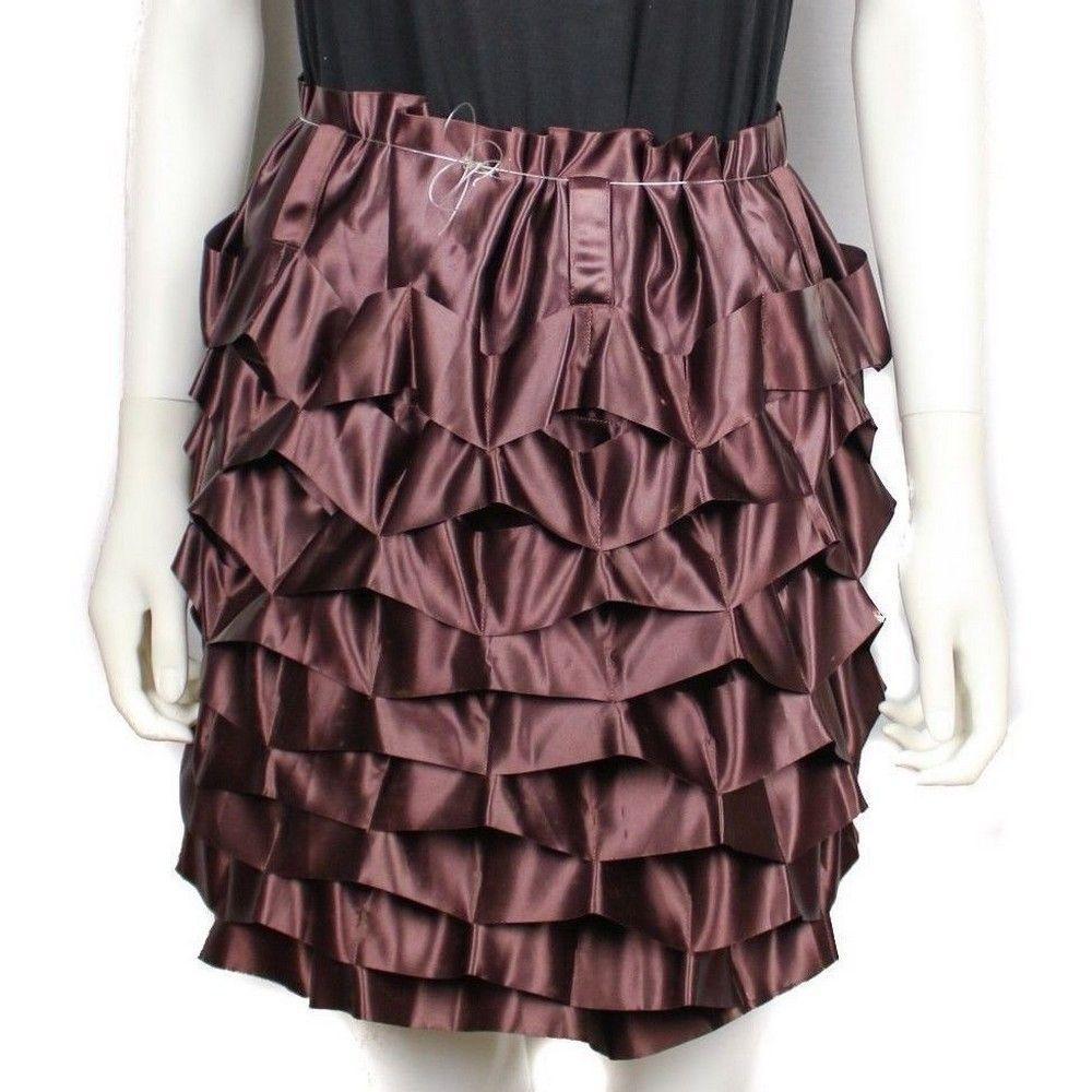 Issey Miyake Skirt - Rare Purple Ruffle - Small - S