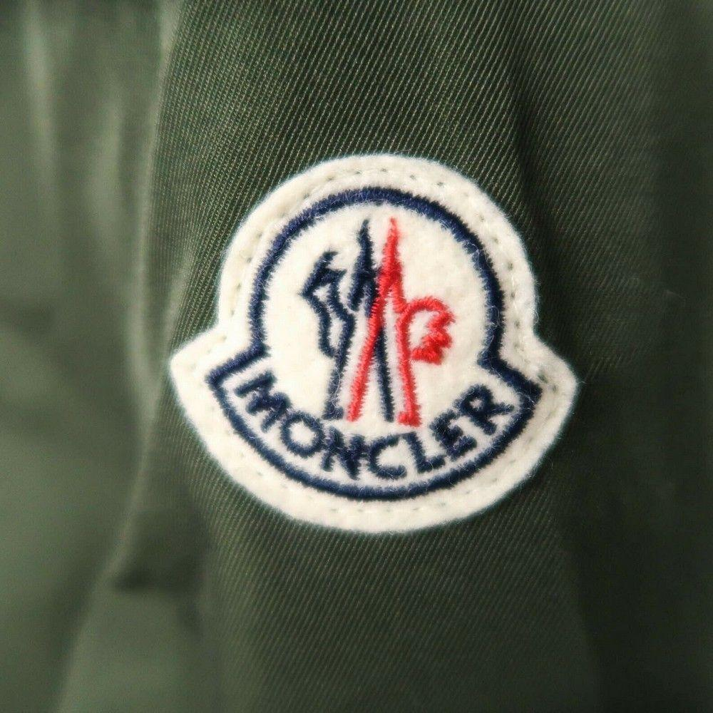 Moncler Jacket - Green Hooded Zip Up Utility - 4