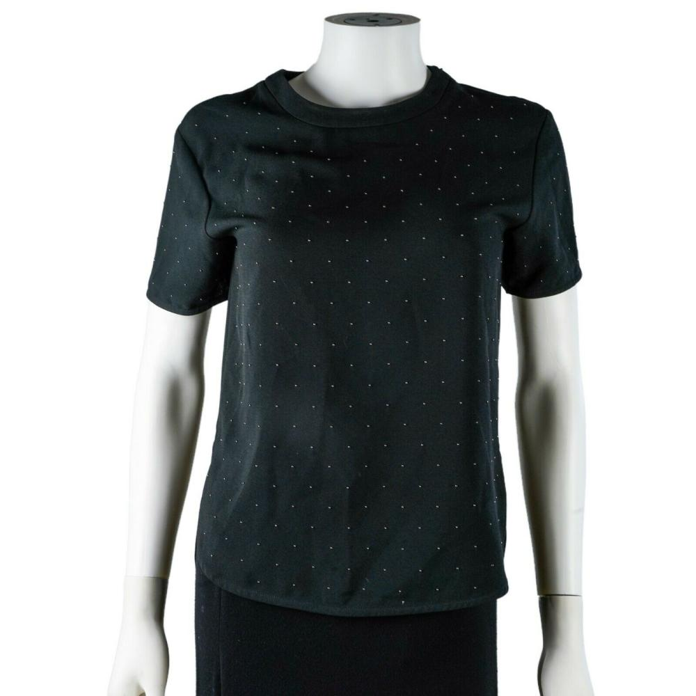 Balenciaga - Stud Top - Black T-Shirt - US XS - Extra Small