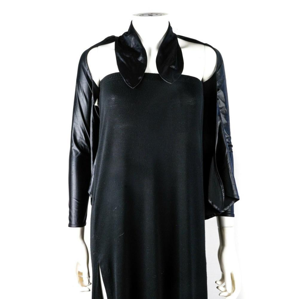 Balenciaga - Bolero Shirt - Black Long Sleeve Back Tie Shirt - US 4 - 36