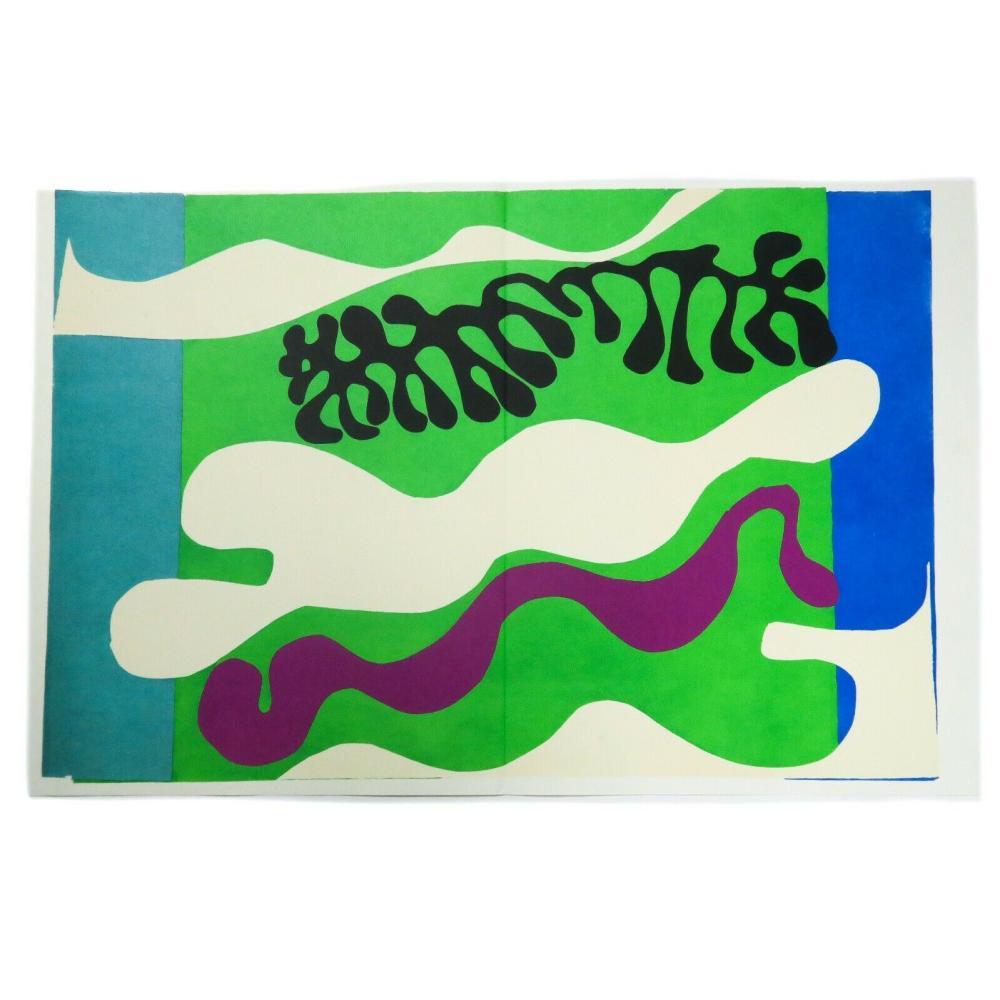 Henri Matisse - Lagoon (Le Lagon), Plate XVIII from Jazz
