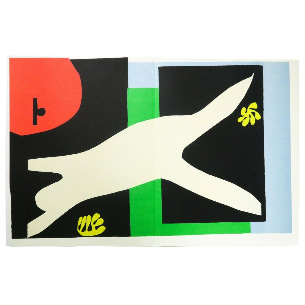 Henri Matisse The Swimmer in the Tank La nageuse dans l'aquarium Plate XII Jazz