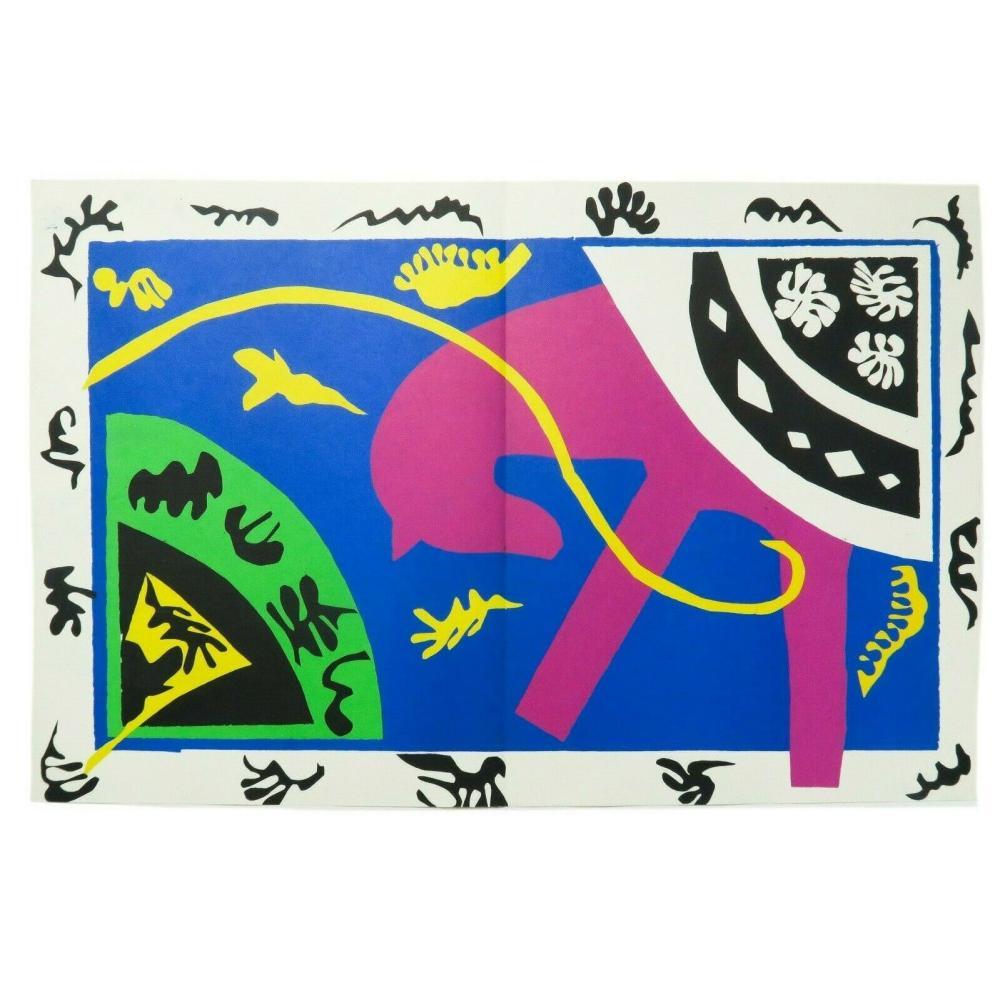 Henri Matisse - The Horse the Rider Clown Le Cheval L'Ecuyere et Le Clown Jazz
