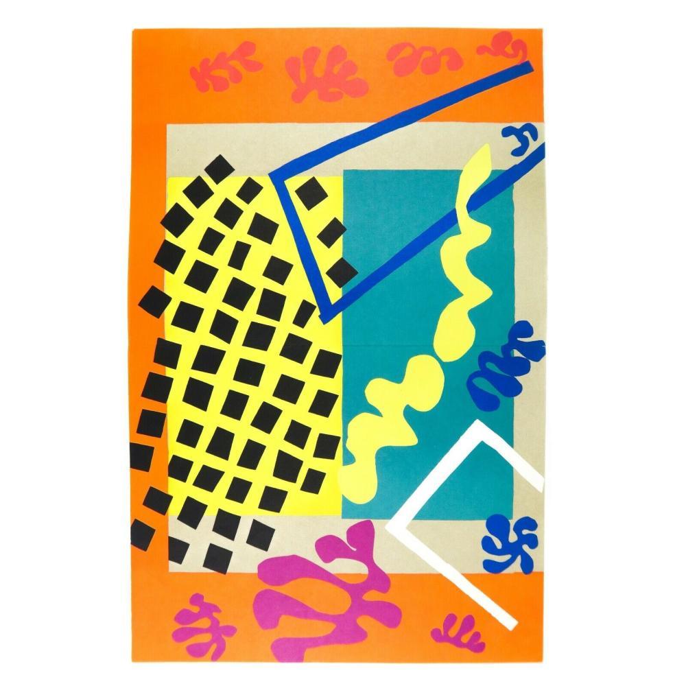 HENRI MATISSE - 'Les Codomas' - Jazz Suite - Limited Edition Lithograph - C1985