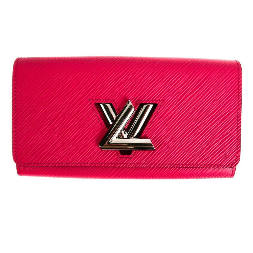 Louis Vuitton - Epi Leather Twist Chain Wallet - Long