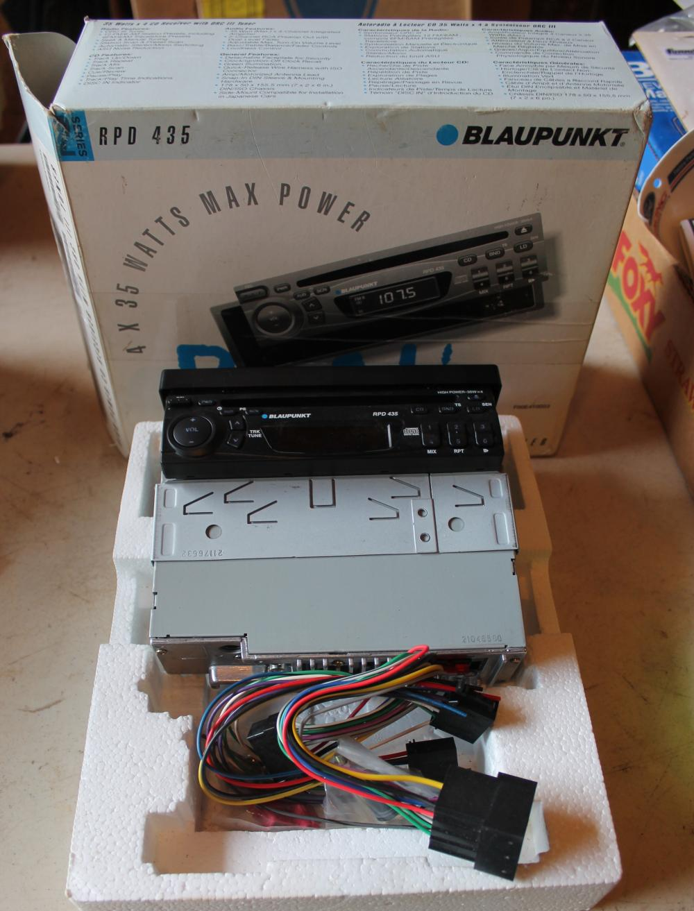 2003 2004 Ford Focus With Blaupunkt Radio Wiring Harness Adapter 1784