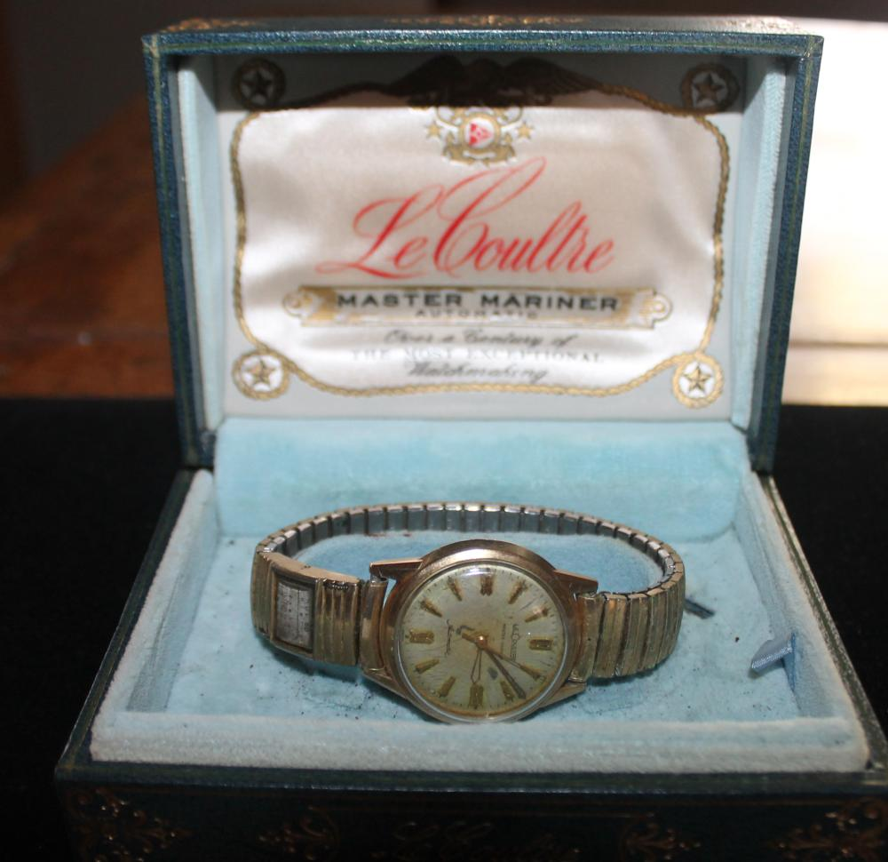 JEWELRY - LeCoultre Master Mariner Watch