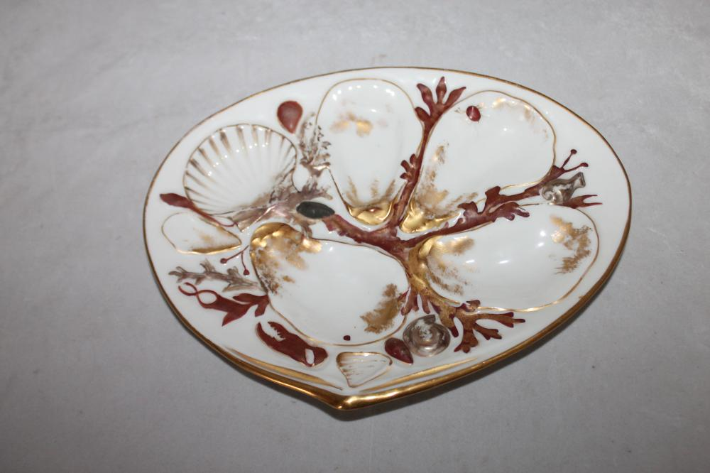 Union Porcelain Works Oyster Plate