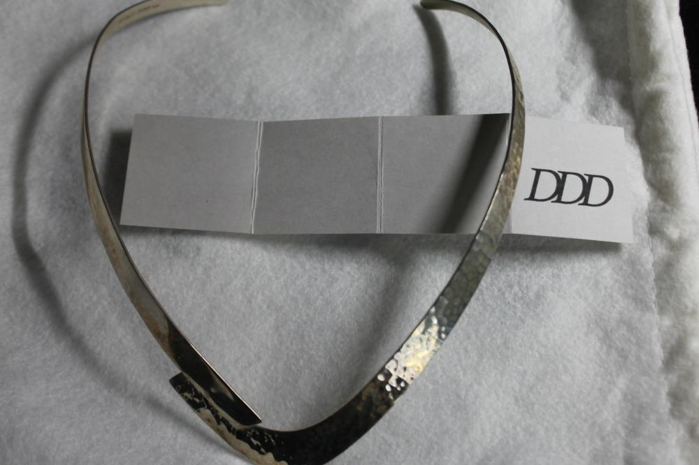 JEWELRY - DDD - DOMINIQUE DINOUART DESIGNED STERLING NECKLACE