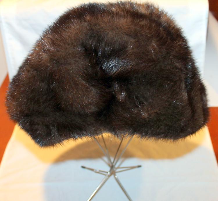 Vintage 1950's Christian Dior Fur Hat