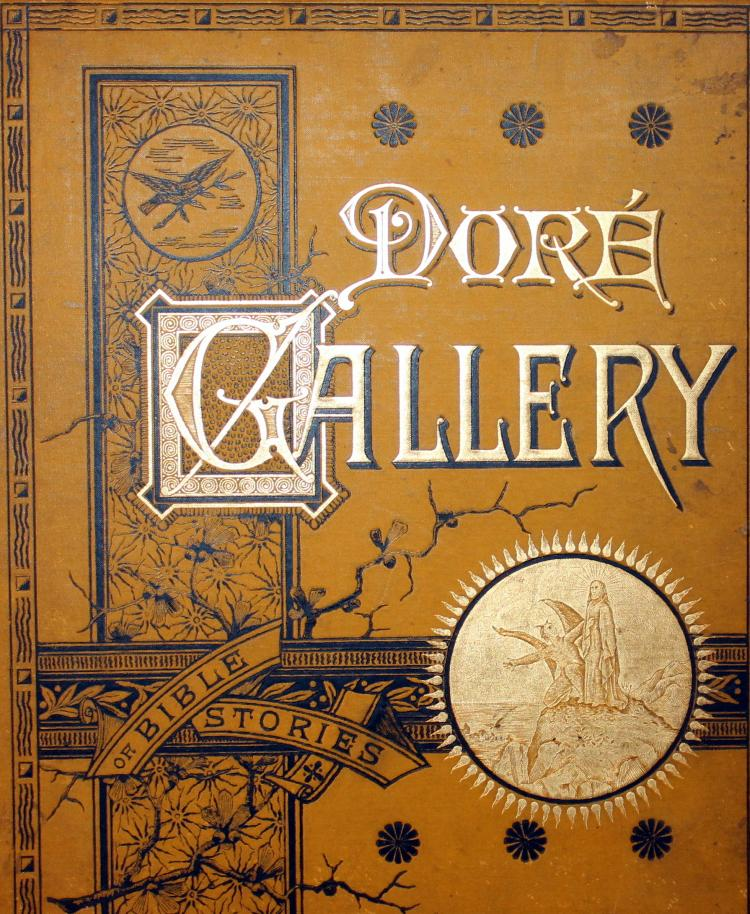 1884 The Dore Gallery Of Bible Stories Book Illustrated