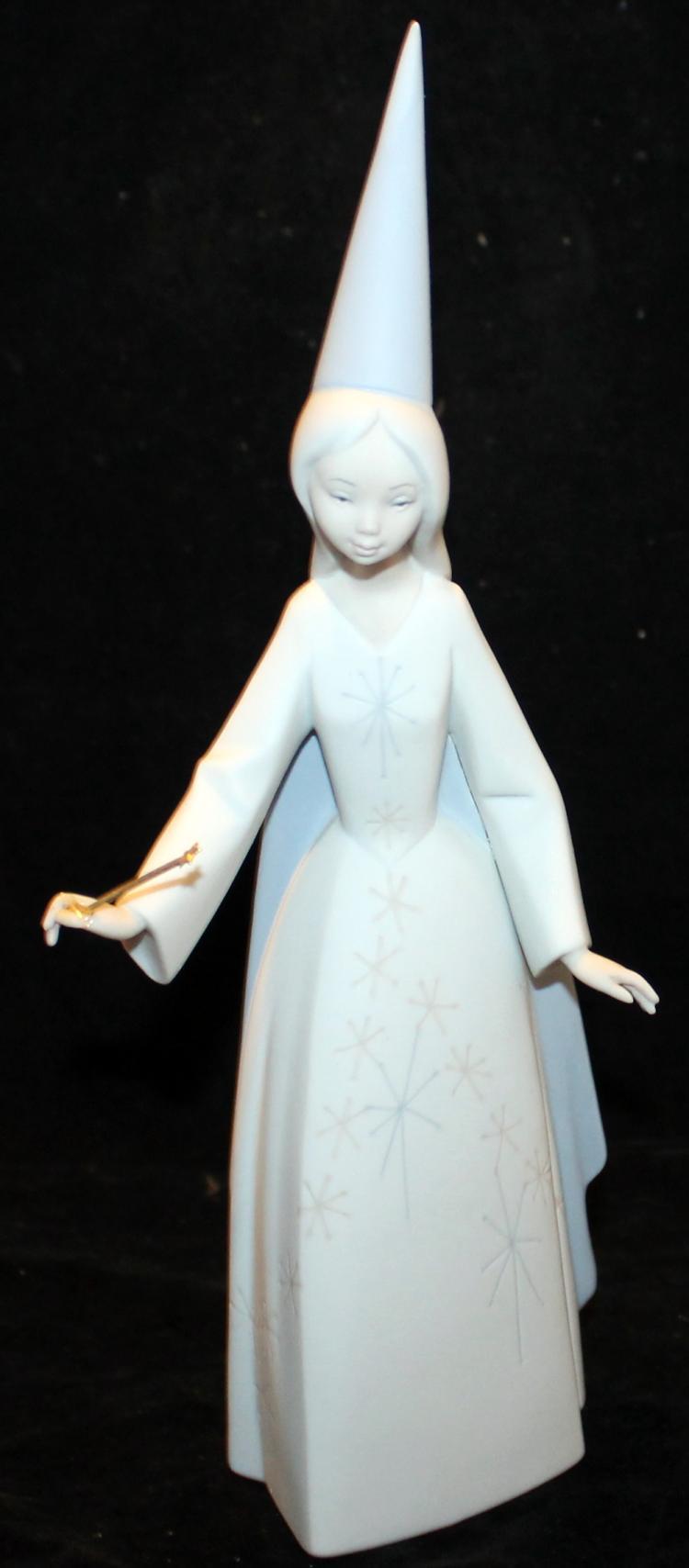 Vintage 1964 Lladro Hade Fairy Figurine #4595 Retired