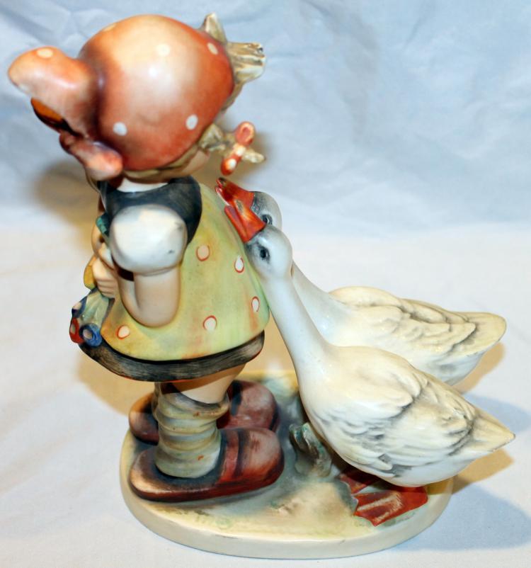 1958 M.I. Hummel Large Goose Girl 7 1/2 Inch Figurine HUM 47/II