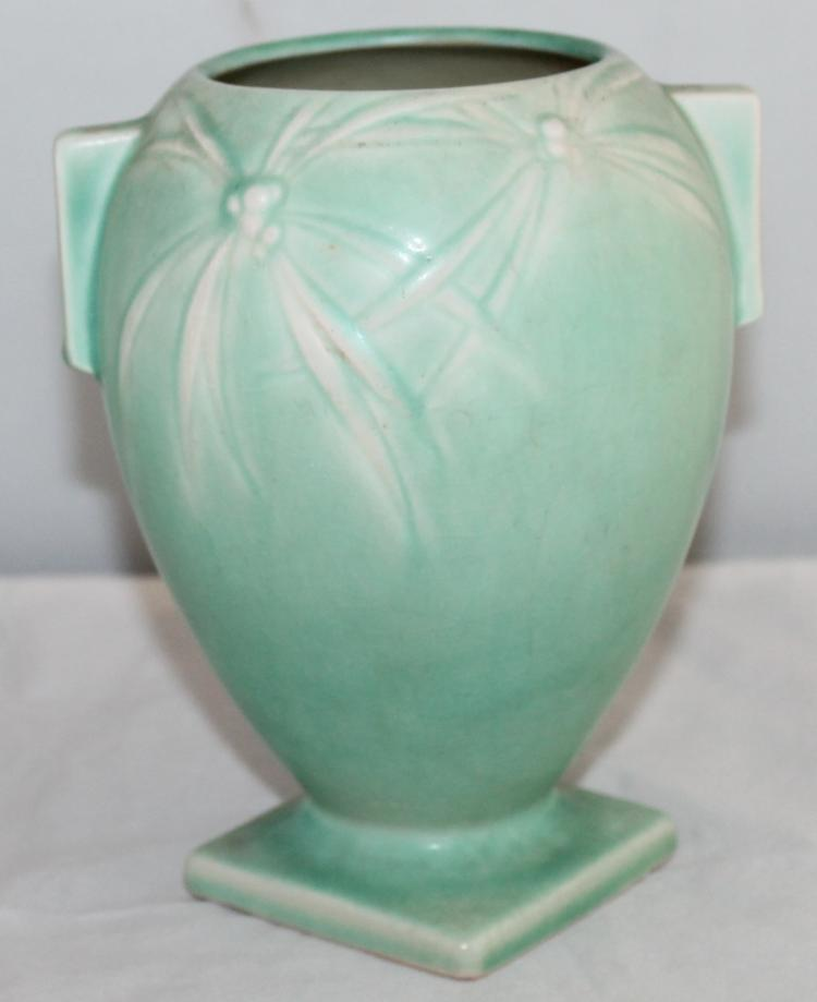 """Roseville Pottery Dawn Vase #827-6"""" USA"""