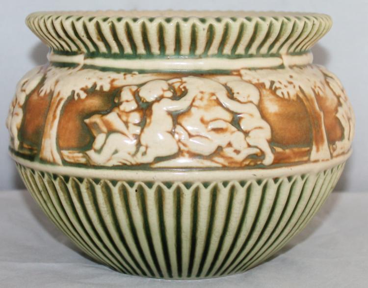 Roseville Pottery Donatello 6 Inch Jardinière USA