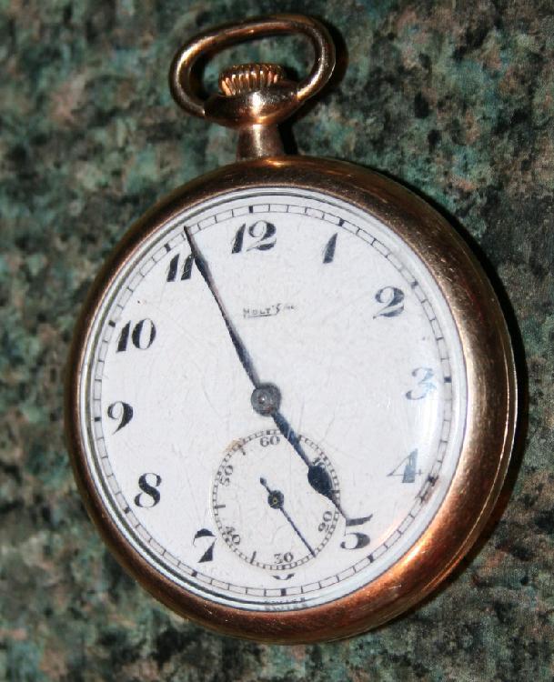 Bulova W. C2. Gold Plated Pocket Watch