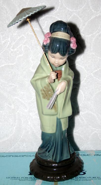 Lladro 4988Oriental Spring Porcelain Figurine