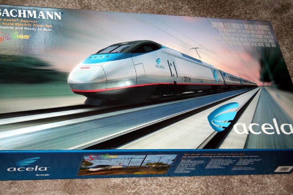 Bachmann The Acela Express HO Train Set NIMB