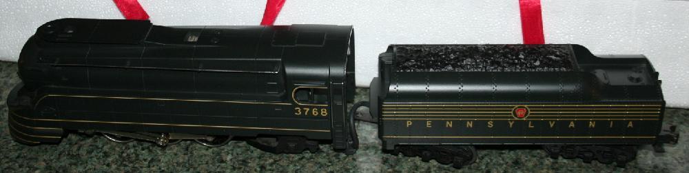 Rail King By MTH Electric Trains Pennsylvania K-4s Torpedo 4-6-2 Steam Locomotive W Tender