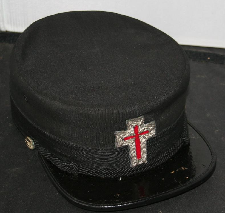 Knights Templar Henderson And Ames Co Hat c1890-1920