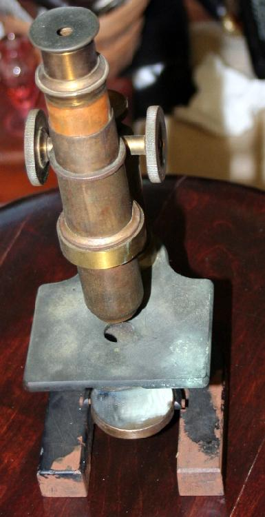 c1910 Bausch And Lomb Rochester NY Microscope