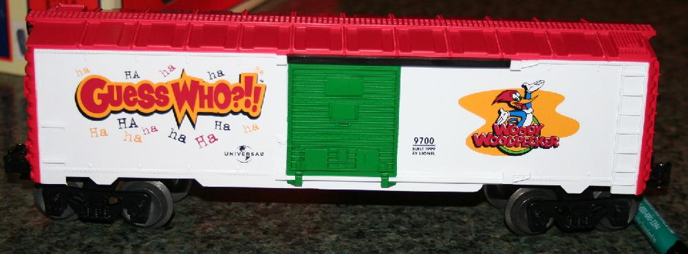 Lionel Trains Woody Woodpecker Boxcar #6-26244 In Original Box