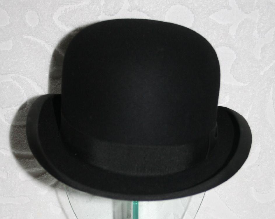 Stetson Stratoliner Bowler Hat In Original Stratoliner Box