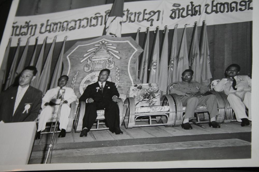 Pre Vietnam War Laos Photo Album With 70 Plus Photographs