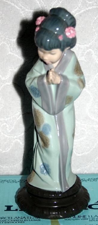 LladroJapanese Sayonara model4989