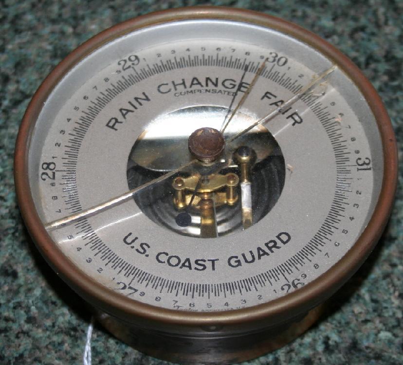 World War II U.S. Coast Guard Barometer