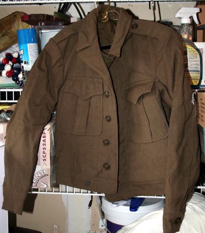 World War II Eisenhower Wool Jacket