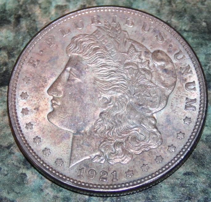 1921 Morgan Silver Dollar Coin VF-20 or Better
