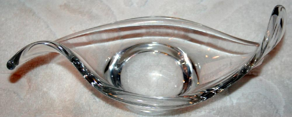 Baccarat Cristallerie Lorraine End Of The Day Small Dish