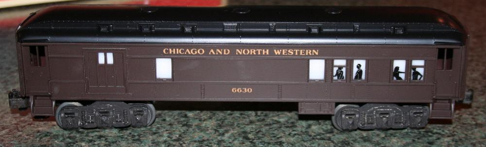 Lionel Trains Chicago & North Western Combo Car #6-16051