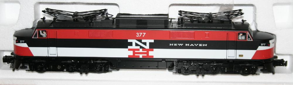 O Gauge K-Line Trains New Haven NH EP-5 Electric Engine #377 MIMB