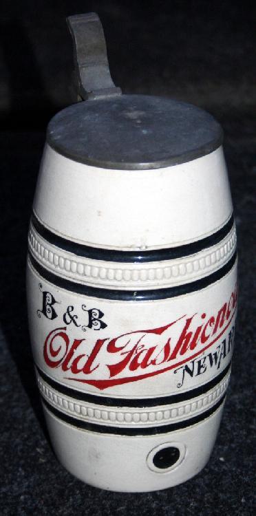 B & B Old Fashioned Newark NJ German Stein