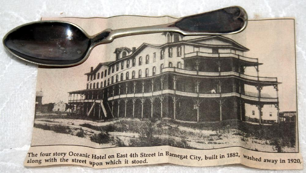 Oceanic Hotel Barnegat City Spoon