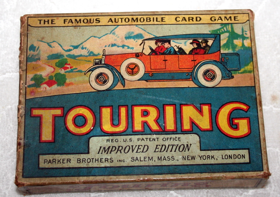 1906 Parker Brothers Touring Card Game
