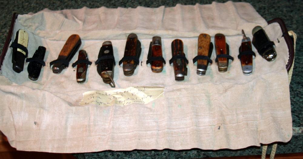 Lot Of 12 Assorted Vintage Pocket Knives