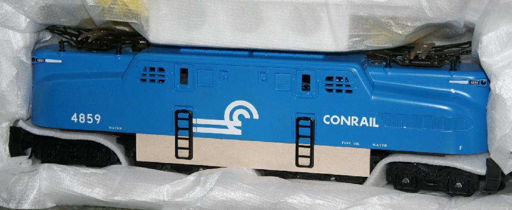 Rail King GG-1 Conrail Electric Train Engine #30-2516-0