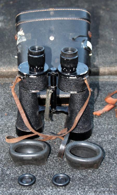 World War II Nazi Field Officer Binoculars