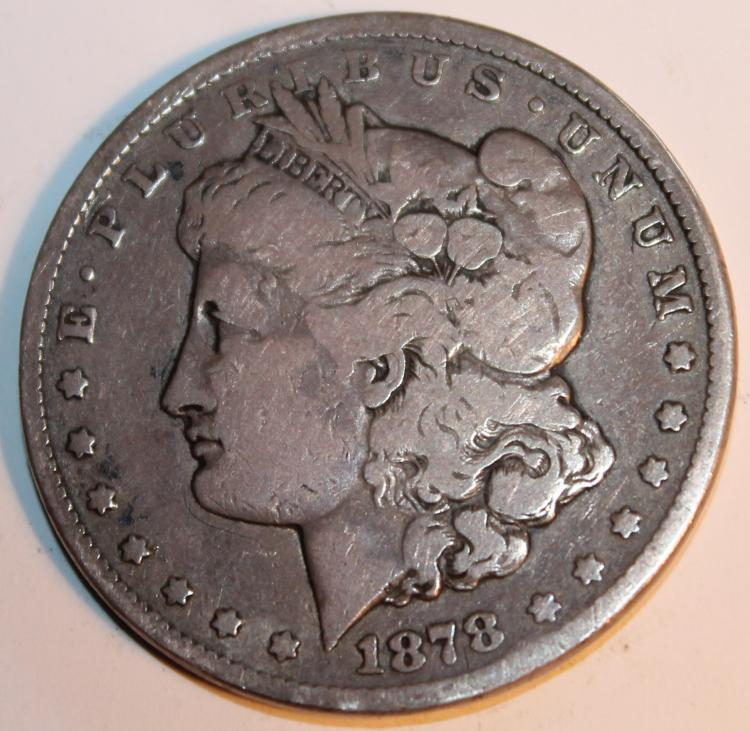 1878CC Carson City Morgan Silver Dollar Coin