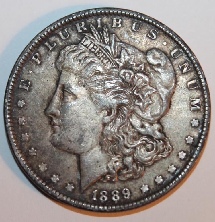 1894 Morgan Silver Dollar Coin EF-40 Or Better