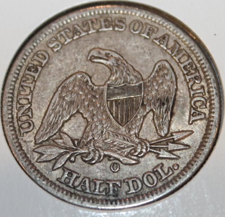 Lot 75: 1885-O Liberty Seated Half Dollar Silver Coin VF-20 Or Better