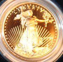 Lot 77: 2000-W One Half Ounce Twenty Five Dollar American Eagle Proof Coin