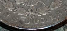 Lot 84: 1892-CC Carson City Morgan Silver Dollar Coin VF-20
