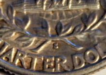 Lot 87: 1932-S Washington Silver Quarter AU-50 Or Better