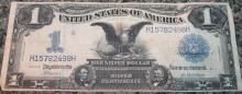 Lot 118: 1899 Napier McClung One Dollar Large Dollar Silver Certificate Fine Condition