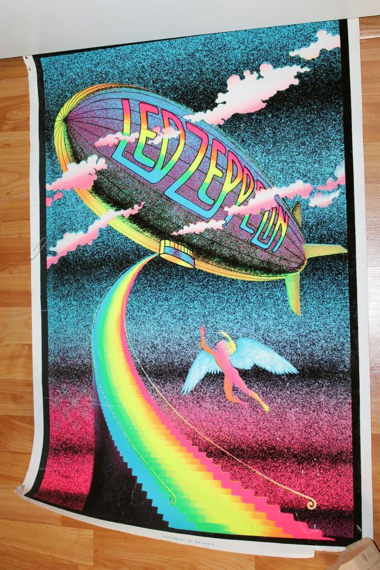 Original Led Zeppelin Stairway To Heaven Poster